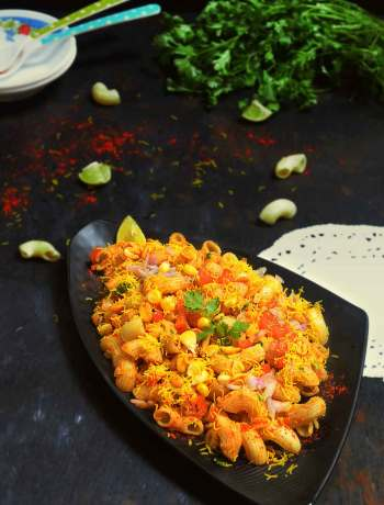 PASTA CHAAT RECIPE