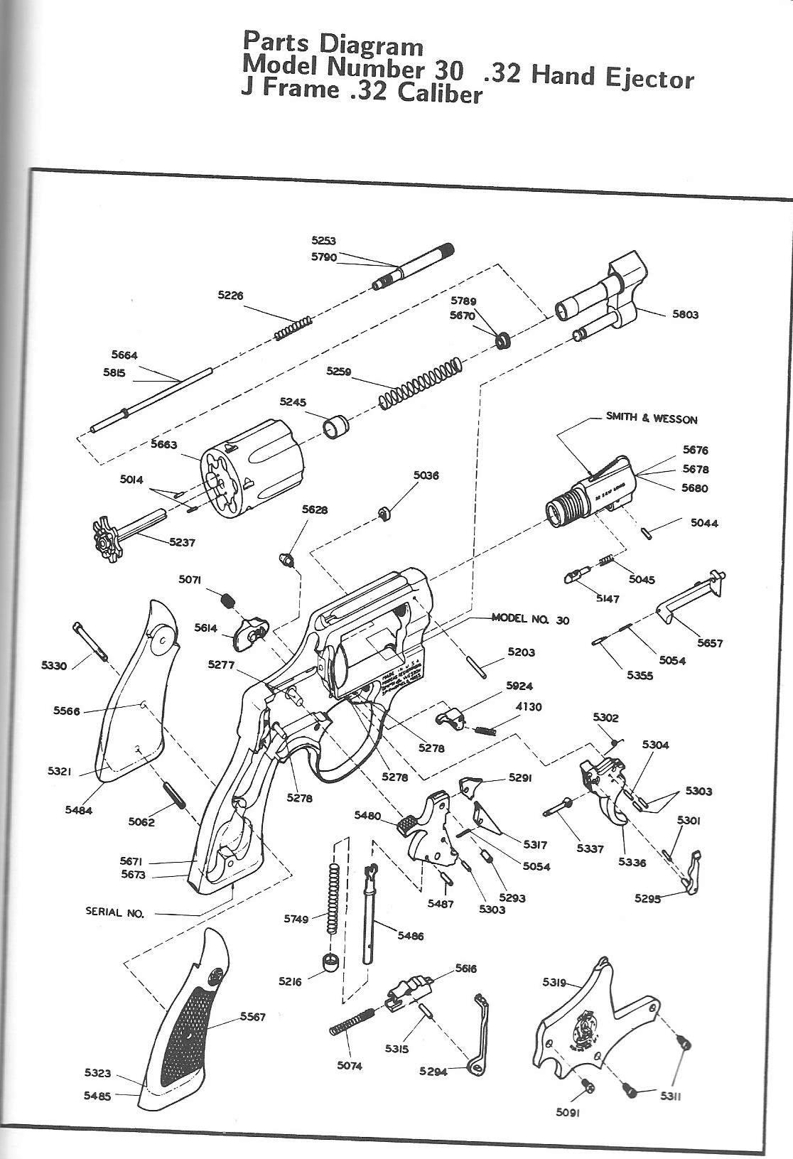 32 Long Hand Ejector Model Question