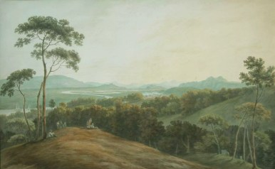 A Distant View of Stirling, John Warwick Smith (1749-1831)