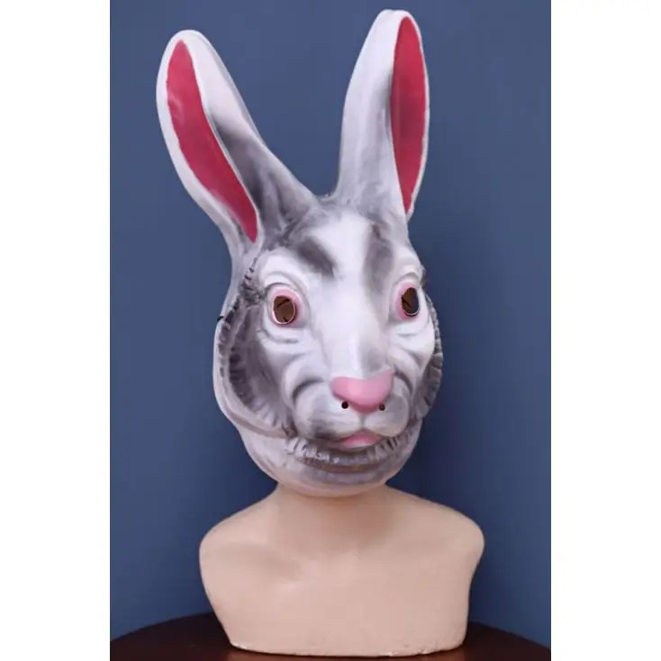 Creepy Rabbit Mask Alice In Wonderland