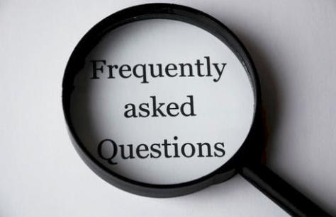 FAQ magnifying glass image