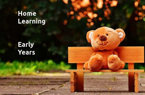 Home Learning and Early Years - image and web link