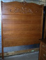 smith's antiques - #c244 oak bed - smith's antiques | sumerduck