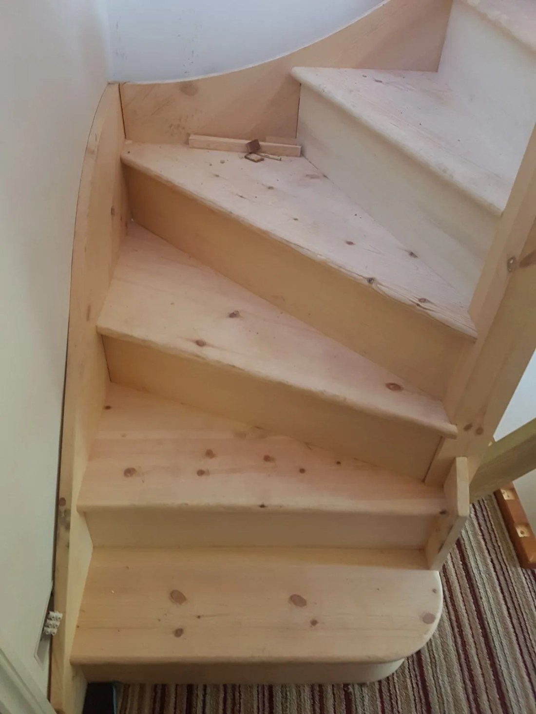 pine staircase for loft conversions