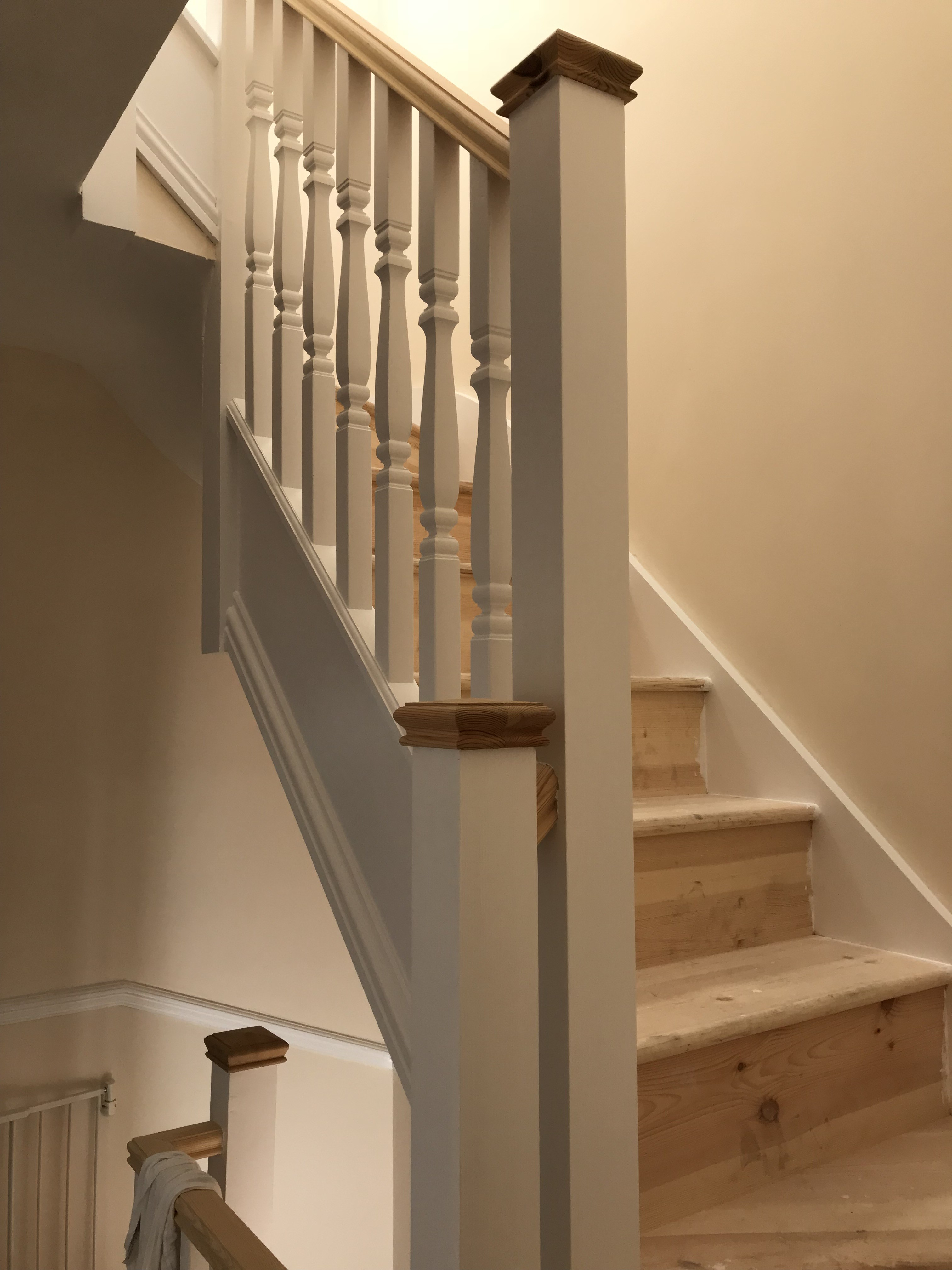 pine stairs for loft conversions