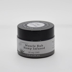 Hemp infused muscle rub from Smith Sons Farm