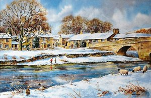 Burnsall In Winter