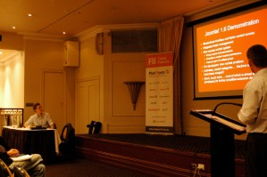 Foote Francis web application developers presenting Joomla web solutions