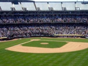 Baseball field stock art