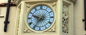 London Square clock face Perth Australia