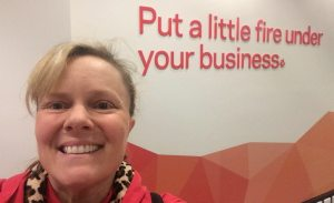 Shauna at St Georges Bank Small Business Hub