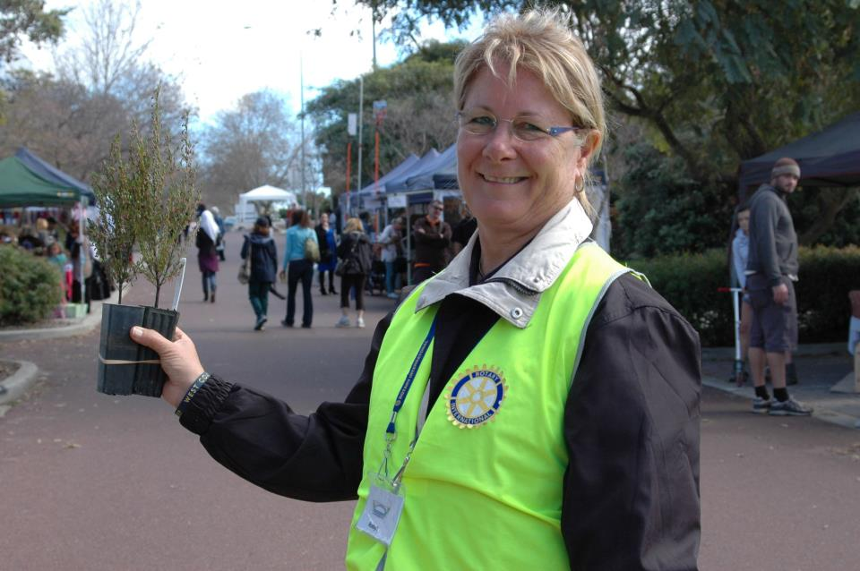 Robyn from Rotary of Canning Bridge - Western Australia