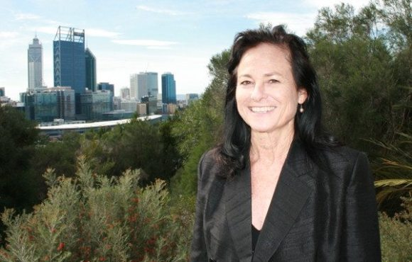 Penny West at Kings Park in Perth Western Australia