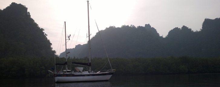 Yana de Lys yacht - sailing is like writing