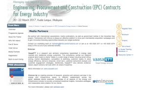 2017 EPC Contracts for the Energy Industry