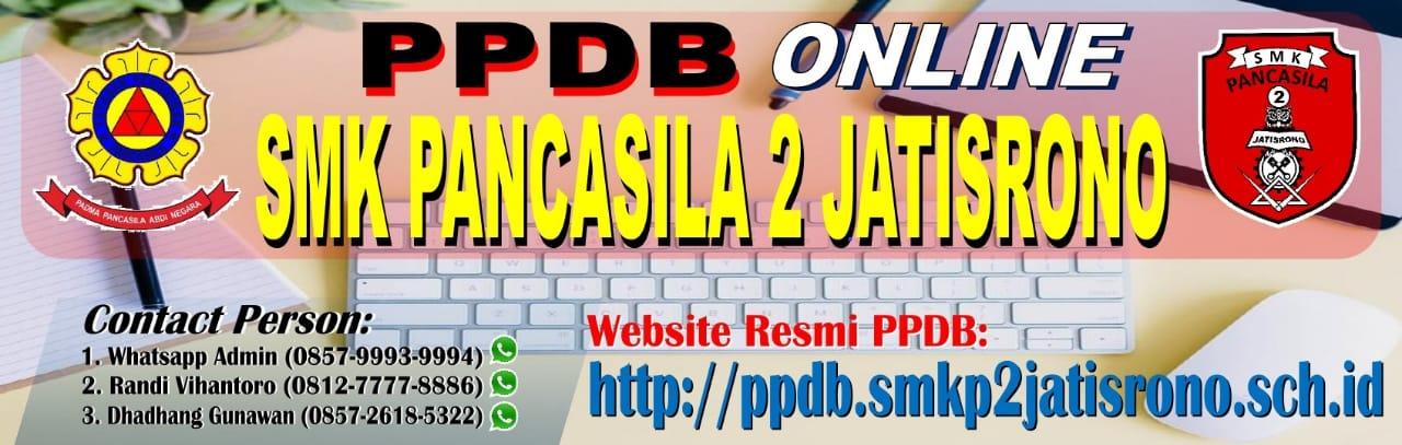 PPDB Online SMK Pancasila 2 Jatisrono