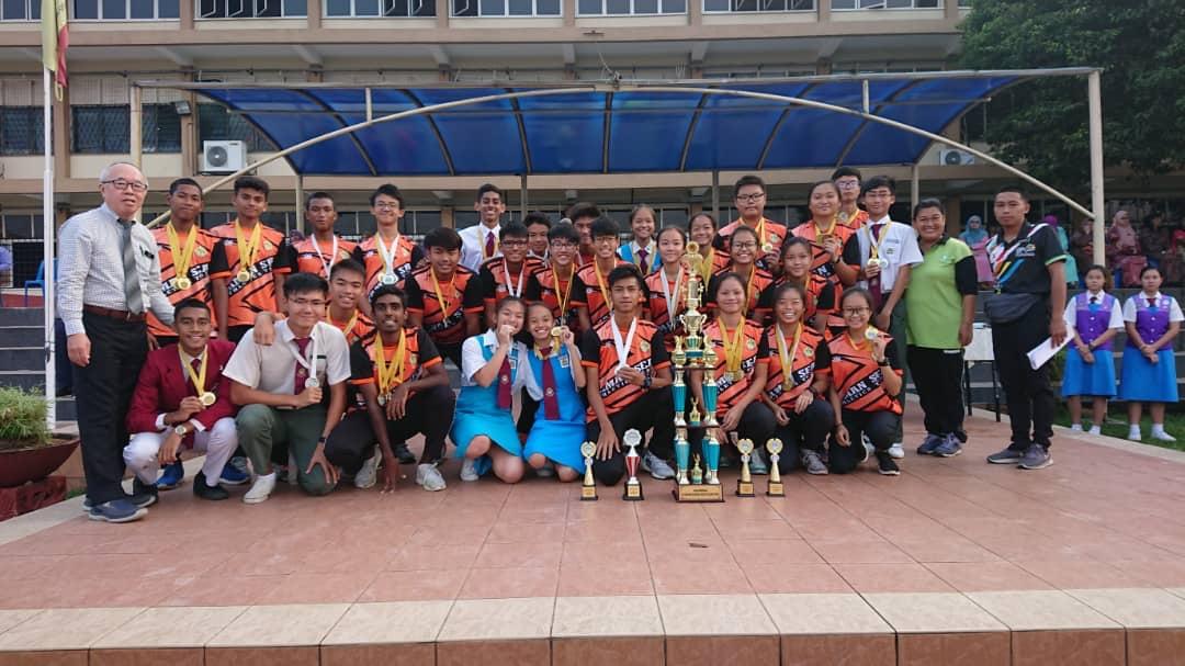Tahniah & Syabas SMK Taman SEA Juara Keseluruhan Kategori Sekolah Menengah Kejohanan Olahraga MSSD Petaling Utama Tahun 2019