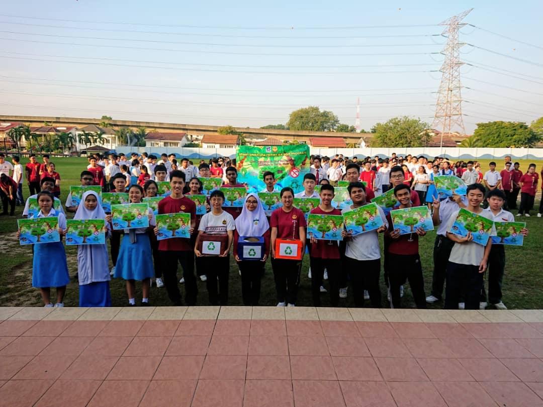 """Sekitar Majlis Pelancaran """"Smart Green SMK Taman SEA Program"""""""