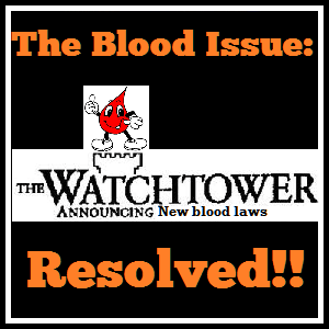 The Jehovah's Witness Blood Issue: Resolved! – Rational