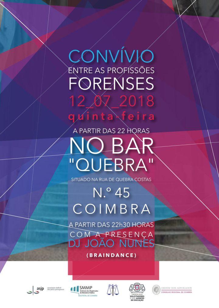 Convívio Profissões Forenses - Coimbra