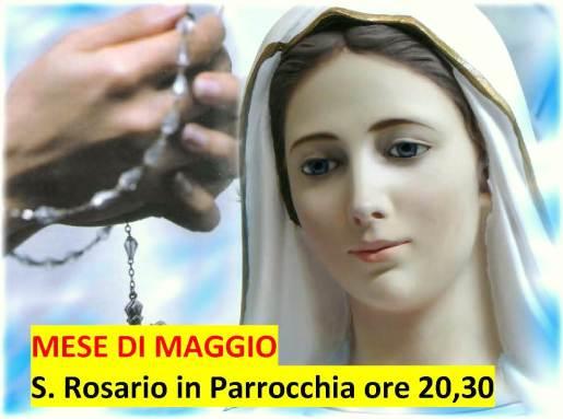 rosario in parrocchia