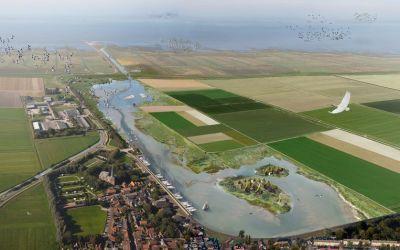 Minister Schouten doet ultieme poging voor Holwerd aan Zee