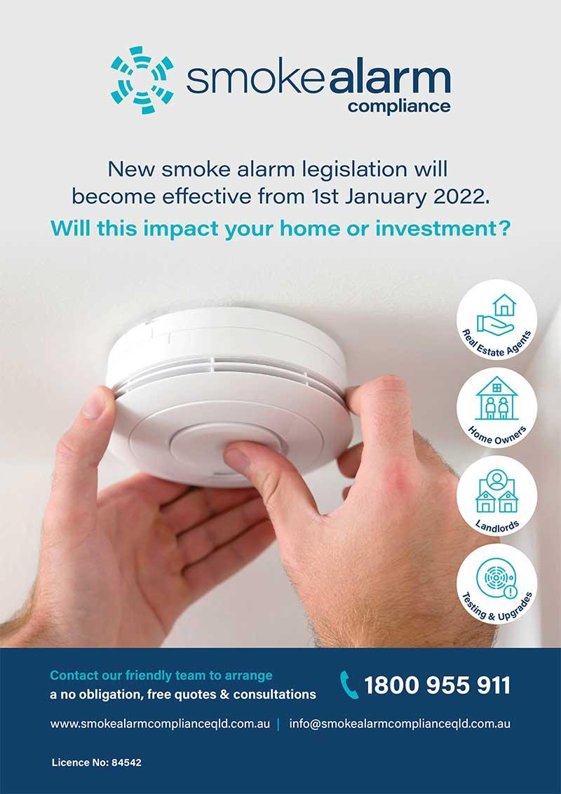 smoke alarm compliance upgrades qld