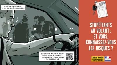 franca campanha maconha no volante França lança campanha contra uso de maconha ao volante