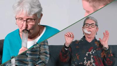 assista avos fumando pela primeira vez seus netos Assista vovós fumando maconha pela 1ª vez com seus netos