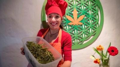 maconha ganha destaque em cozinha chef chile capa Maconha ganha destaque na cozinha da Chef no Chile