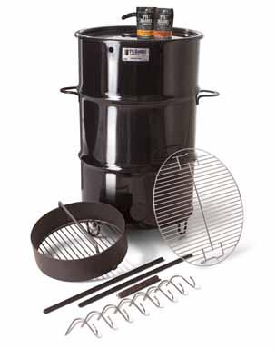 pit barrel cooker package