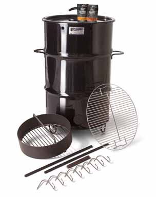 pit barrel cooker package