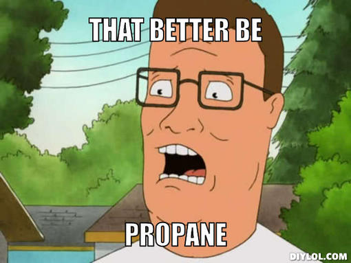 king of the hill propane