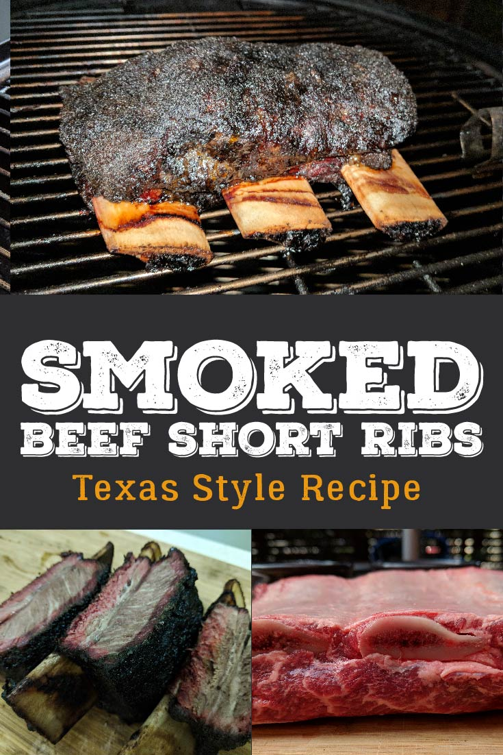 Skip the sweet rubs and sauces and let the beef flavor shine through in this recipe to Texas Style Barbecue Beef Short Ribs.