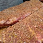 Barbecue pork rub for ribs or pulled pork