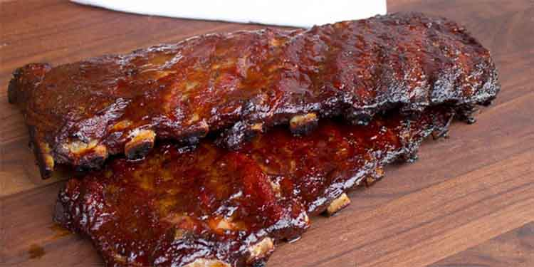 smoked bbq pork ribs