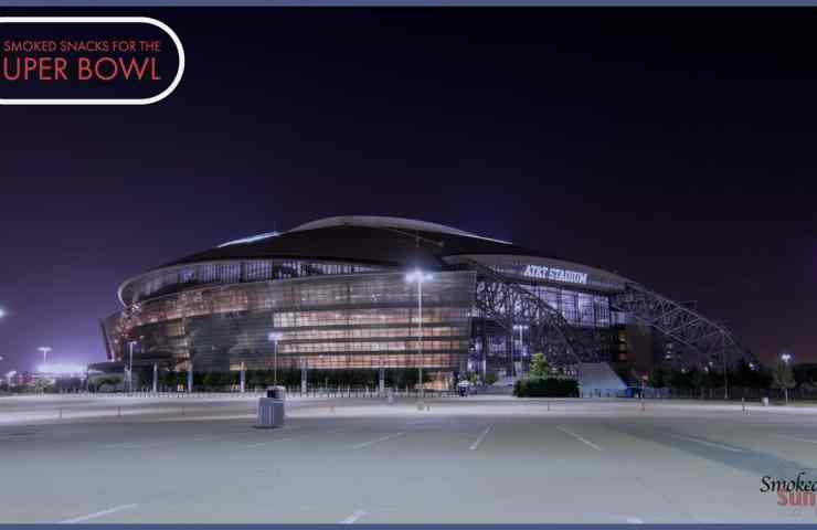 Picture of AT&T Stadium for Super Bowl Appetizers