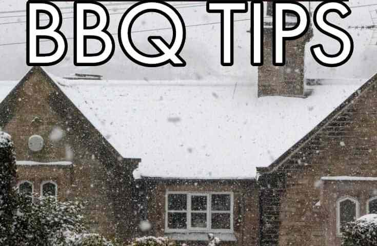 If you are planning to bbq in cold weather, you will want to check out these simple tips beforehand to insure success. #bbq #smokingmeat