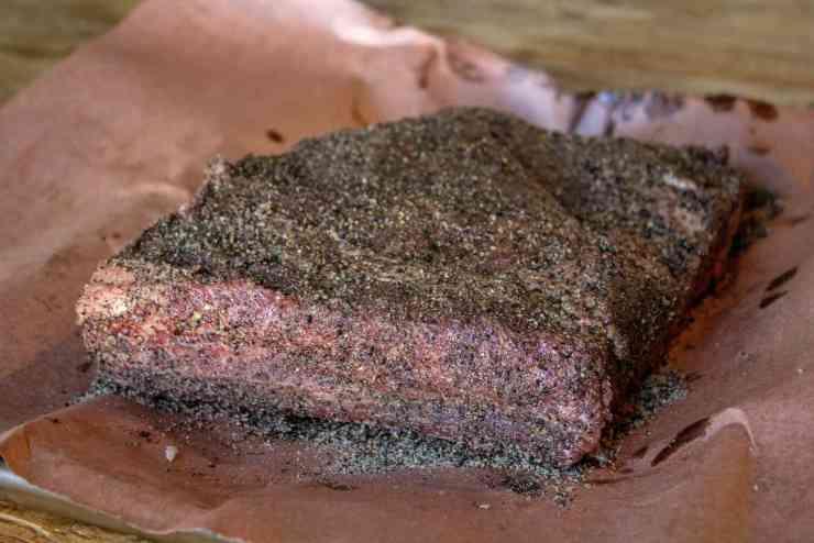 smoked beef chuck ribs with rub