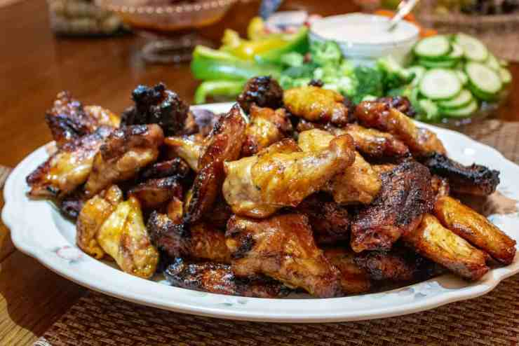 10 smoked meat recipes - chicken wings