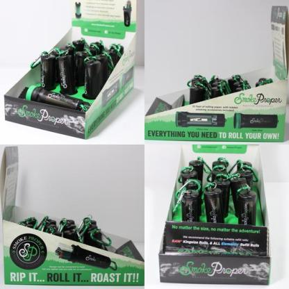 Product display | Smoke Proper Rolling Accessories