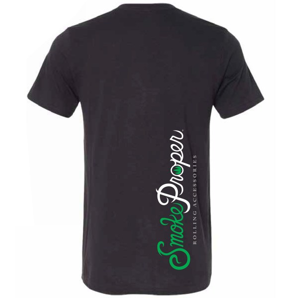 Black (back) – Smoke Proper T-shirt