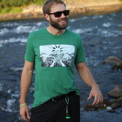 Green T-shirt – Smoke Proper T-Shirt