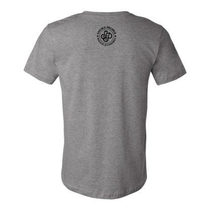 Grey (back) – Smoke Proper T-shirt