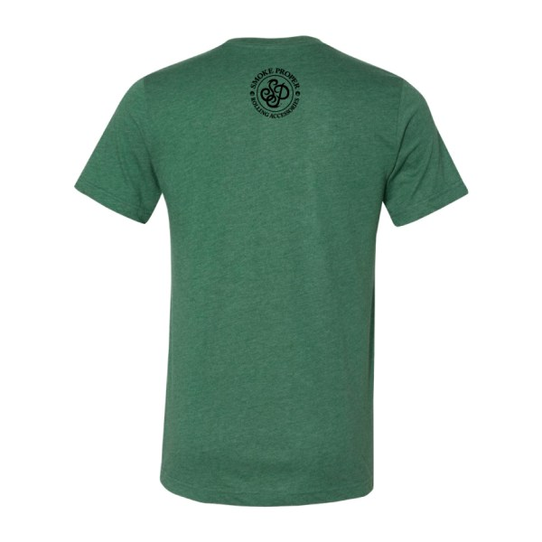 Green (back) – Smoke Proper T-shirt