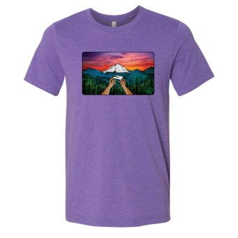 Purple – Smoke Proper T-Shirt