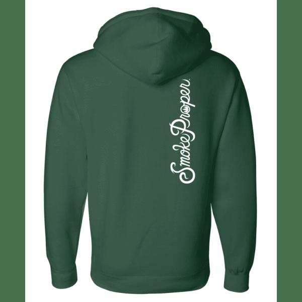 Green –Smoke Proper Hoodie back