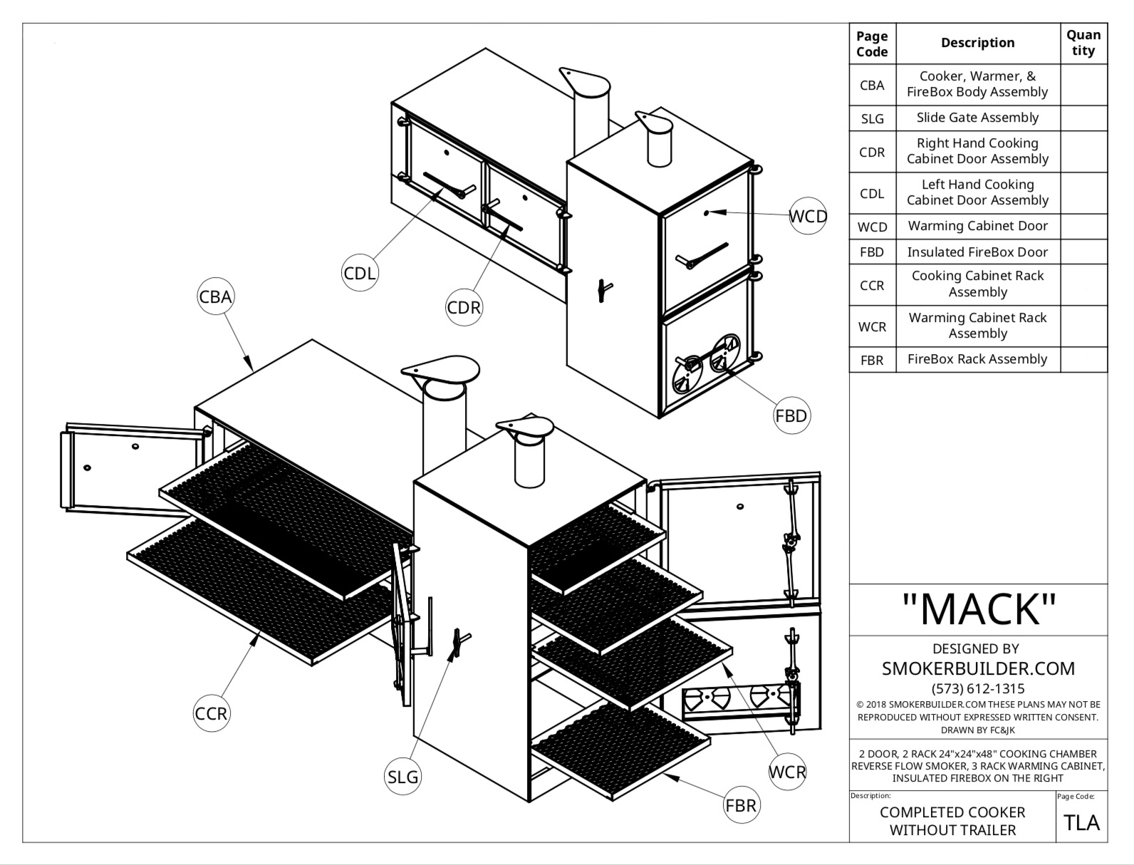 Mack Smoker Plans Now Available
