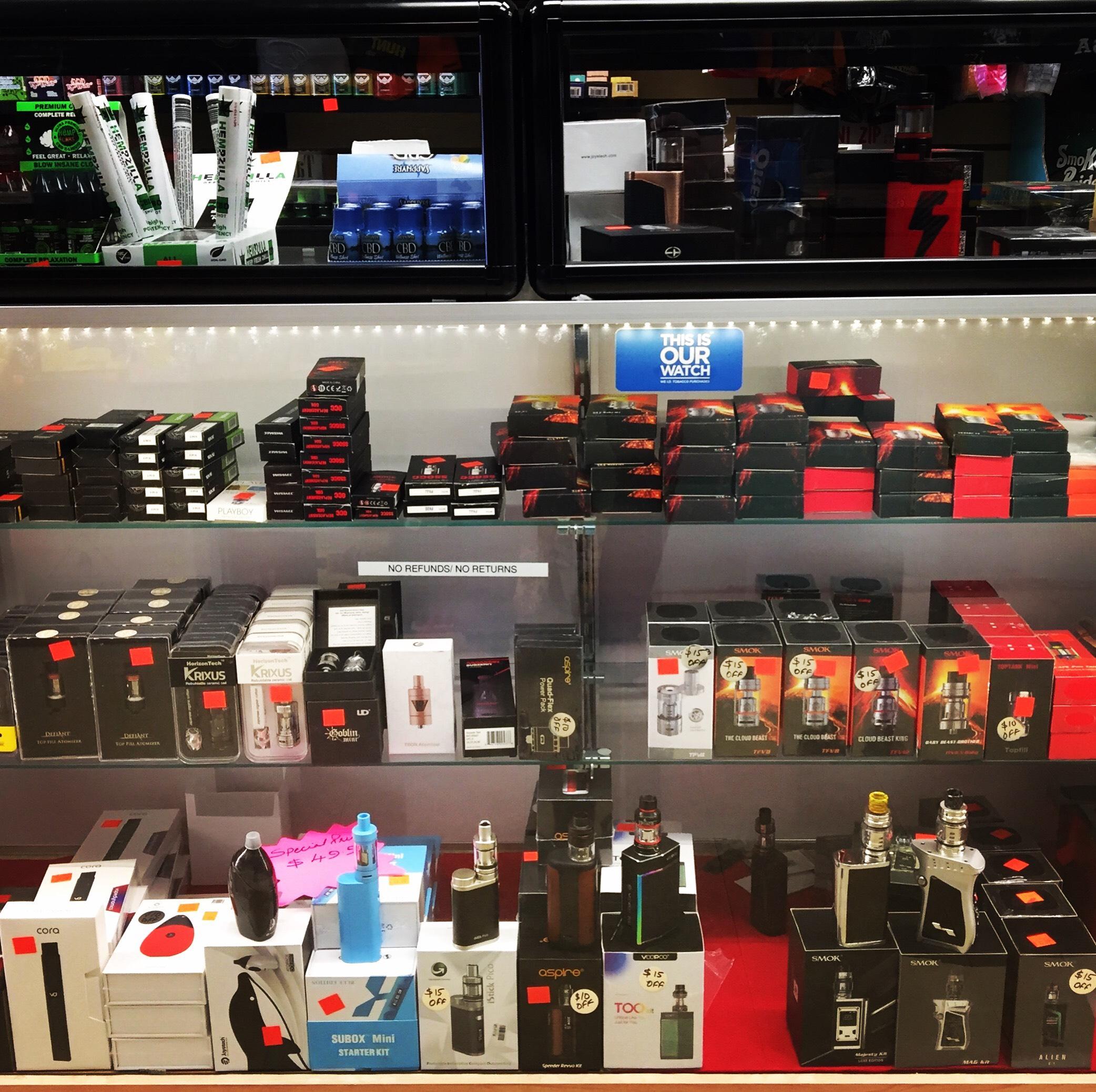 We Are A Full Service Vape Shop Too! | Kansas City | Smokers Heaven