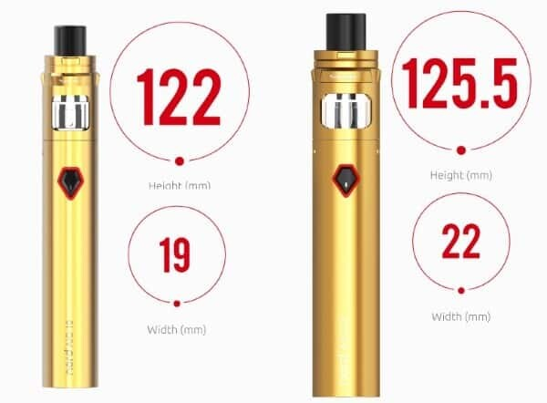 The SMOK Nord AIO side by side